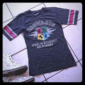 Hogwarts🔥Crest Half Sleeve T-shirt